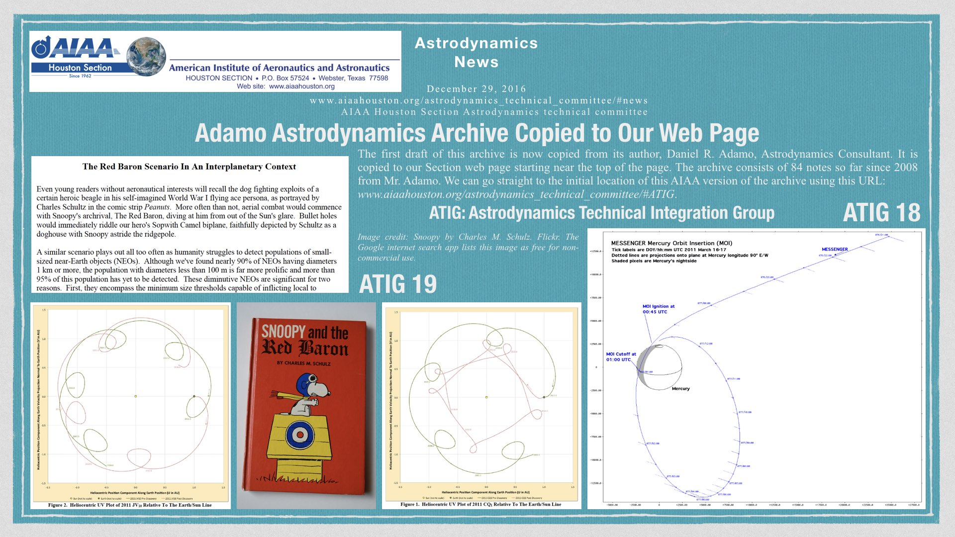 Above: Adamo Astrodynamics Archive Copied to Our Web Page. (Click to zoom.)