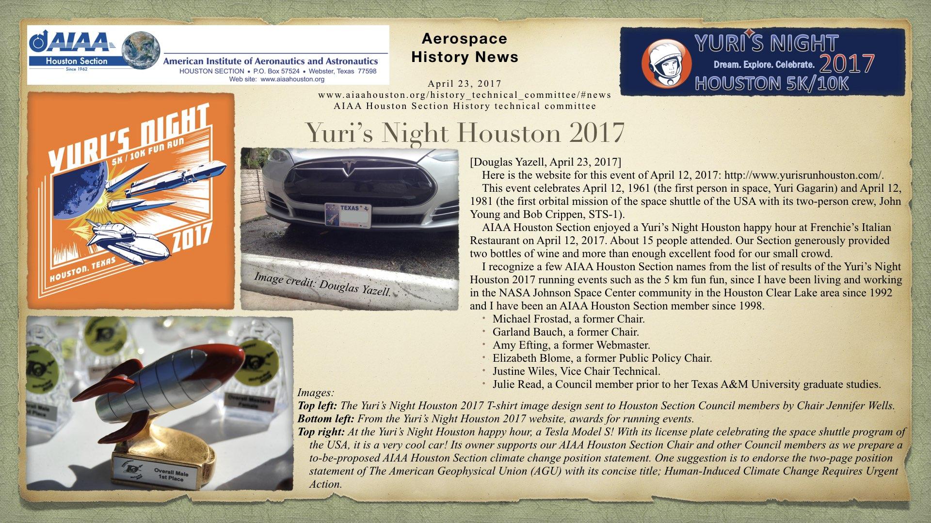 Above: Yuri's Night Houston 2017. (Click to zoom.)