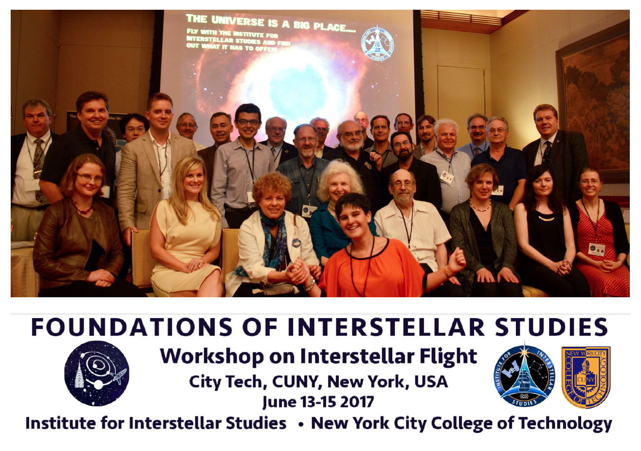 Above: Institute for Interstellar Studies, New York City College of Technology, CUNY, (Click to zoom.)