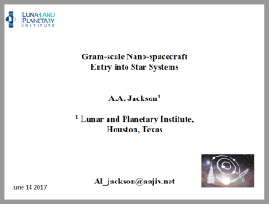 Above: A screen capture image of page 1 from the presentation by Dr. Jackson. (Click to zoom.)