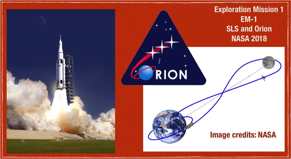 Exploration Mission 1 (EM-1) - Image collection: Douglas Yazell. Image credits: NASA.