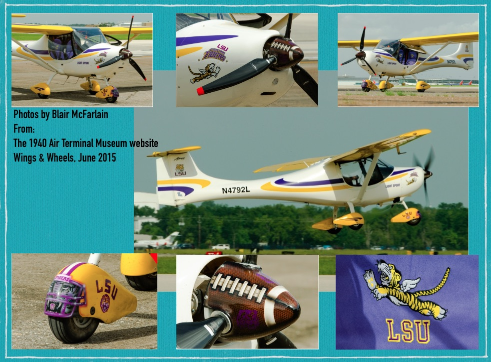 June 2015 Wings and Wheels Montage