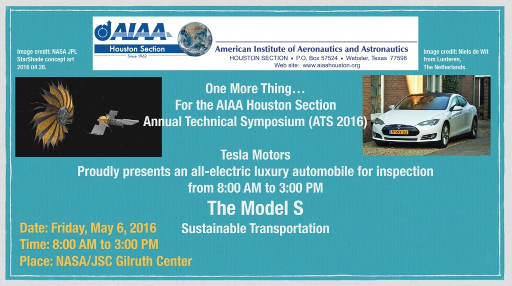 Check out the Tesla Model S at ATS 2016
